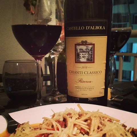 Spaghetti Bolognesi  Chianti Classico Riserva …
