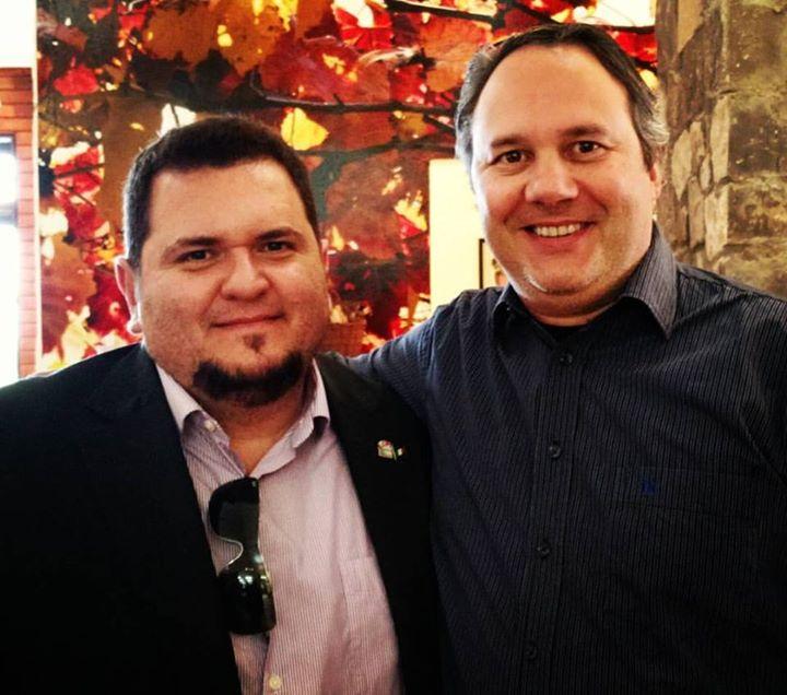 Com meu amigo e também Juiz Internacional de …