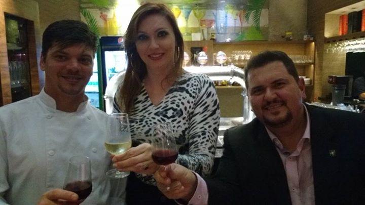 Bebendo vinho no Zero Grau?  Simmmm