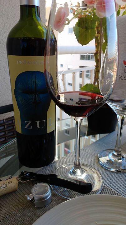 E o ritmo do domingo foi assim… Vinho …