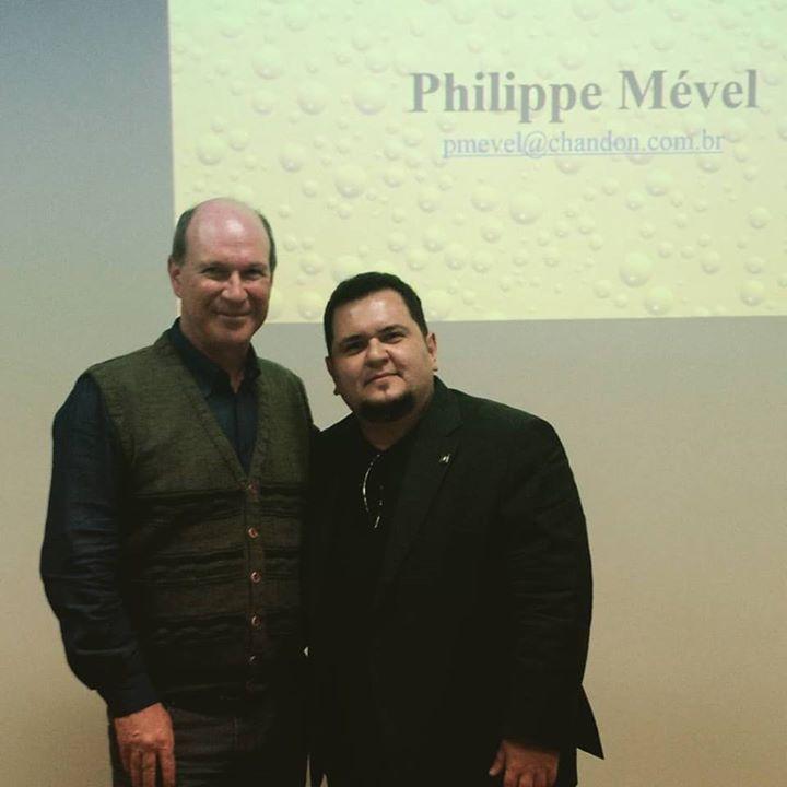 Após brilhante aula de espumantes com Philippe …