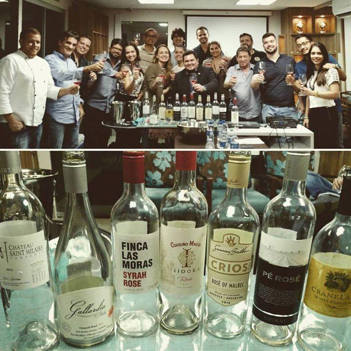Confraria de #vinhos #Rosé, sucesso total entre …