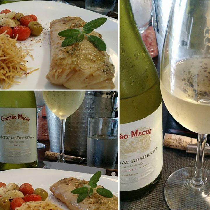 Um Chardonnay para refrescar o almoço na tarde de …