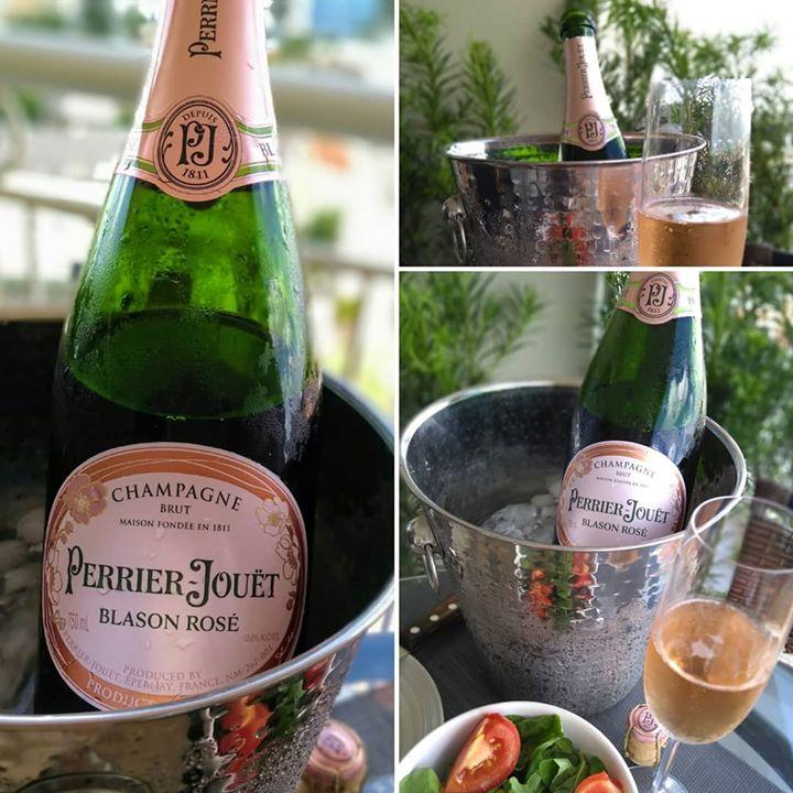 Champagne, o verão não podia terminar sem mais …