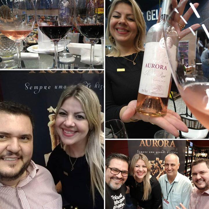 Evento oficial da Vinícola Aurora lança o Rosé …