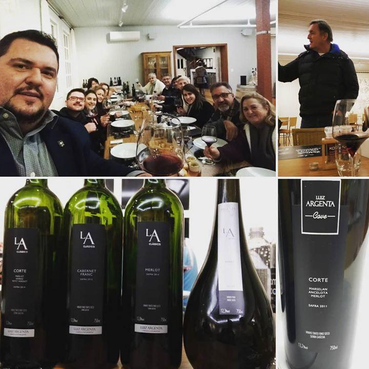 Noite final de vinhos com meus amigos da @asfb …