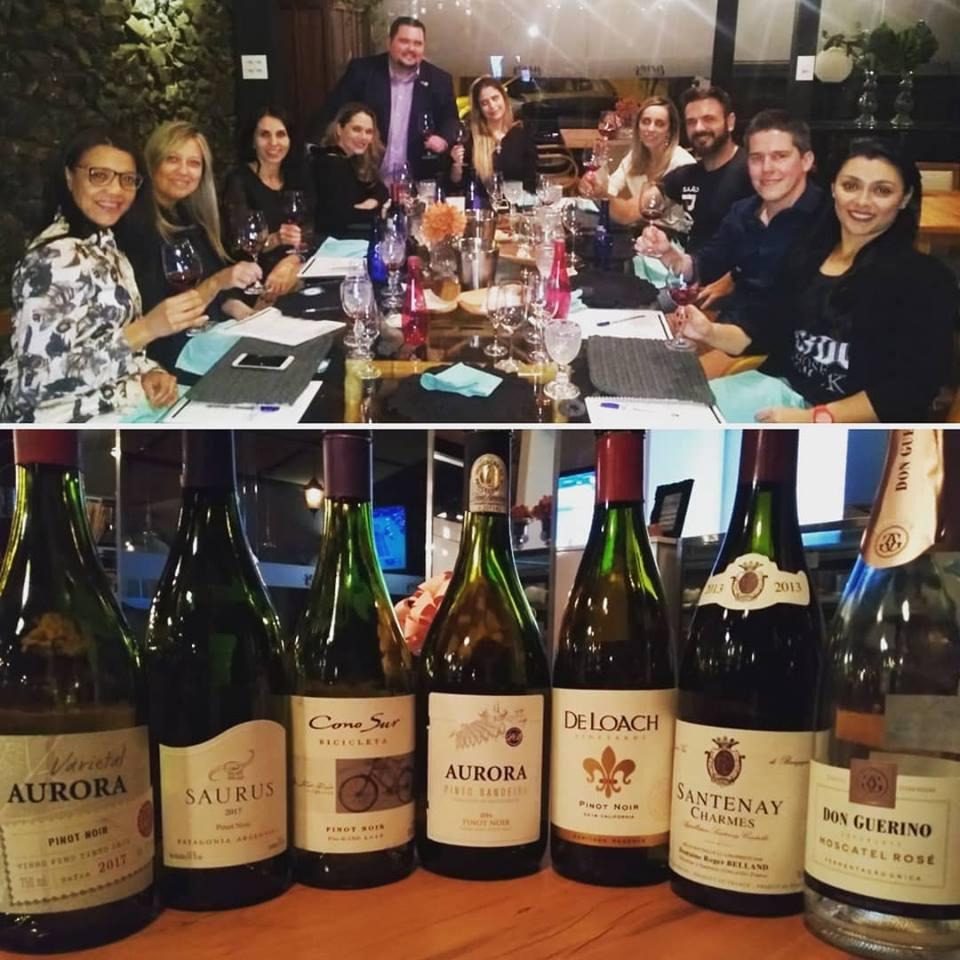 Pinot Noir, da Borgonha até o Novo Mundo… Mais uma noite incrível de boa comida, confrades e confreiras especiais.