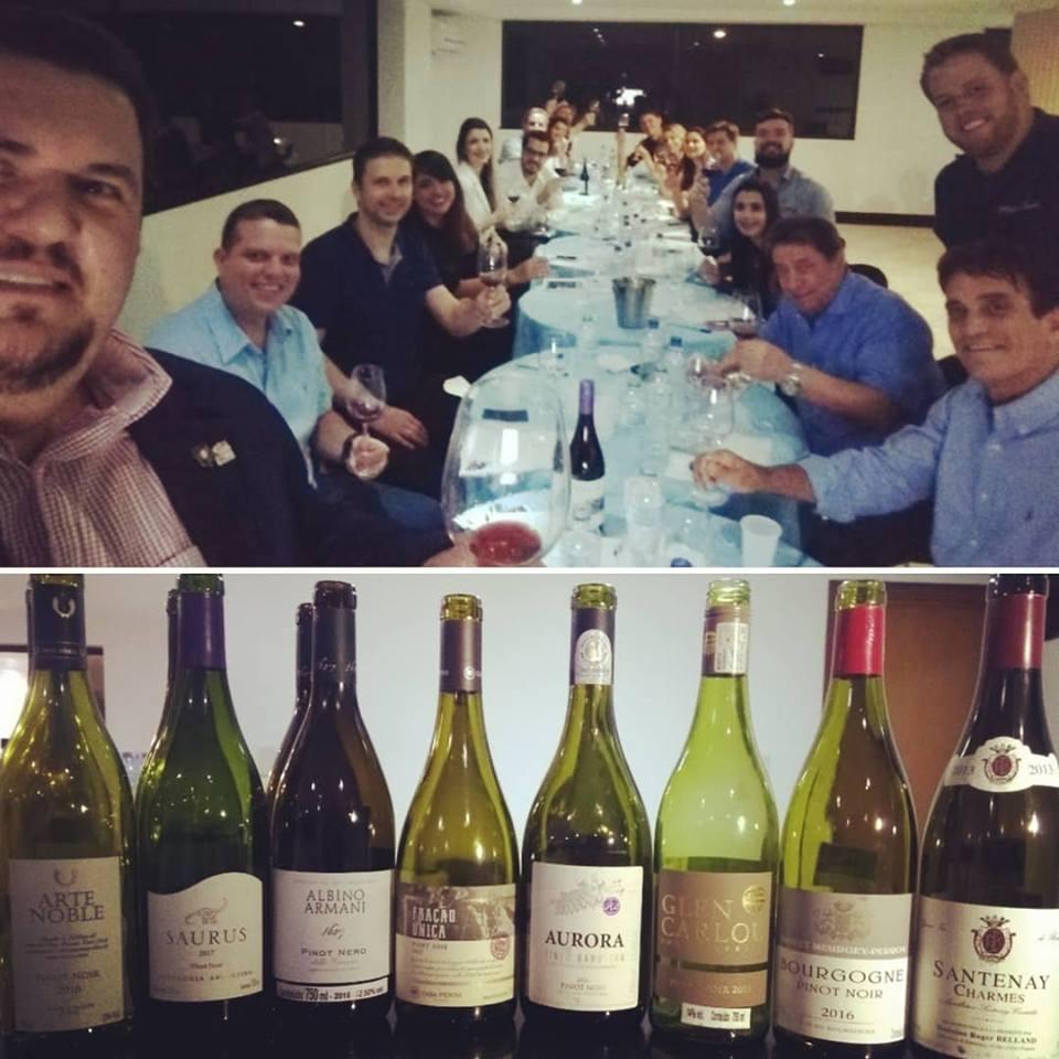 Pinot Noir, da Borgonha até o Novo Mundo. De volta à Goiânia: mais uma noite especial.
