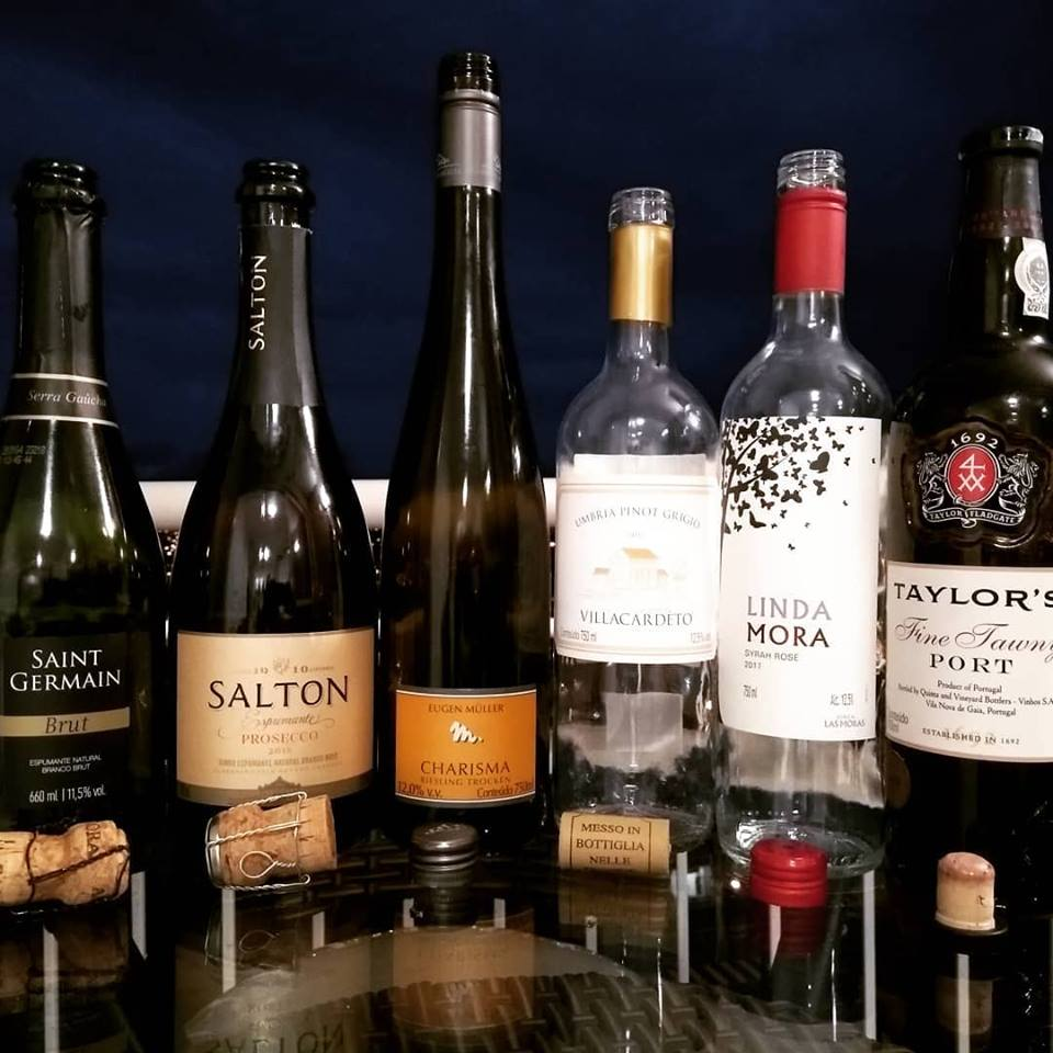 Os vinhos de uma semana praticamente sem tintos…