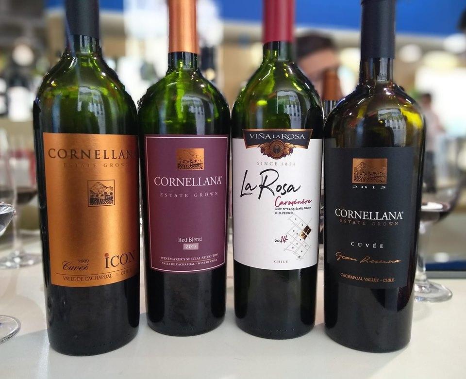 E nos vinhos da semana passada