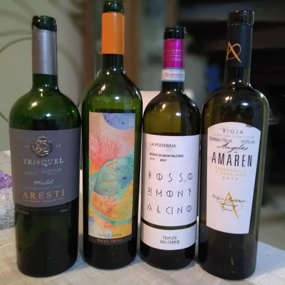 Ainda vivos em minha memória gustativa, os vinhos degustados no último sábado, entre amigos especiais e que faço questão de compartilhar aqui com vocês.
