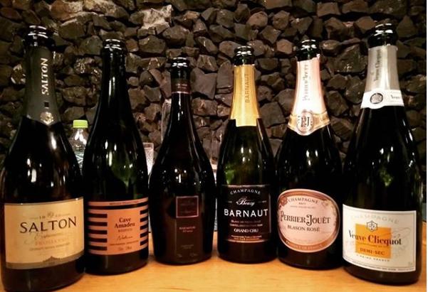 Ainda sobre a noite de espumantes e champagnes da última terça-feira