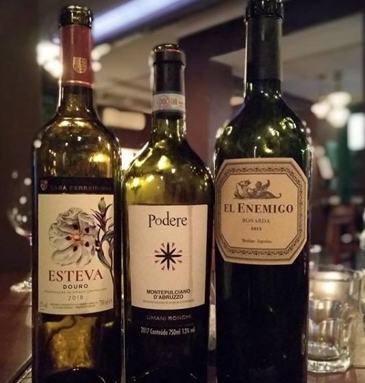Noite pra lá de deliciosa com meu irmão de vinho@vinhosdobruno