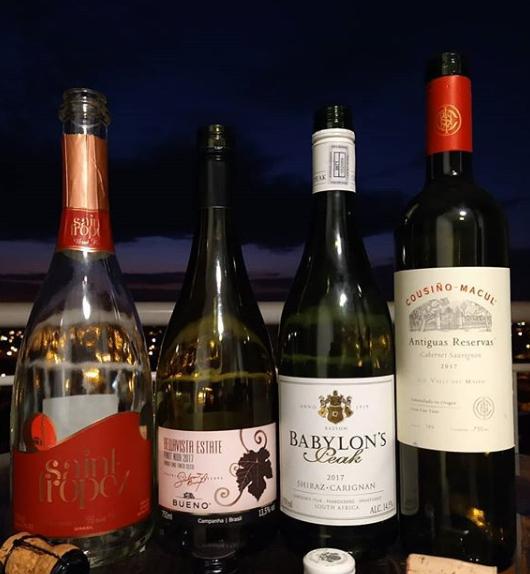 Uma semana com a maioria de vinhos inéditos aqui