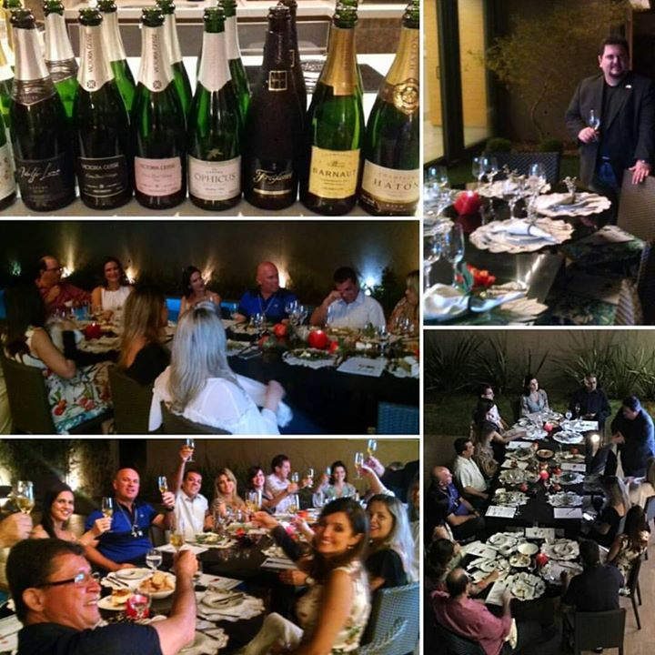 c7201d10 Entre champagnes e espumantes na noite que ...