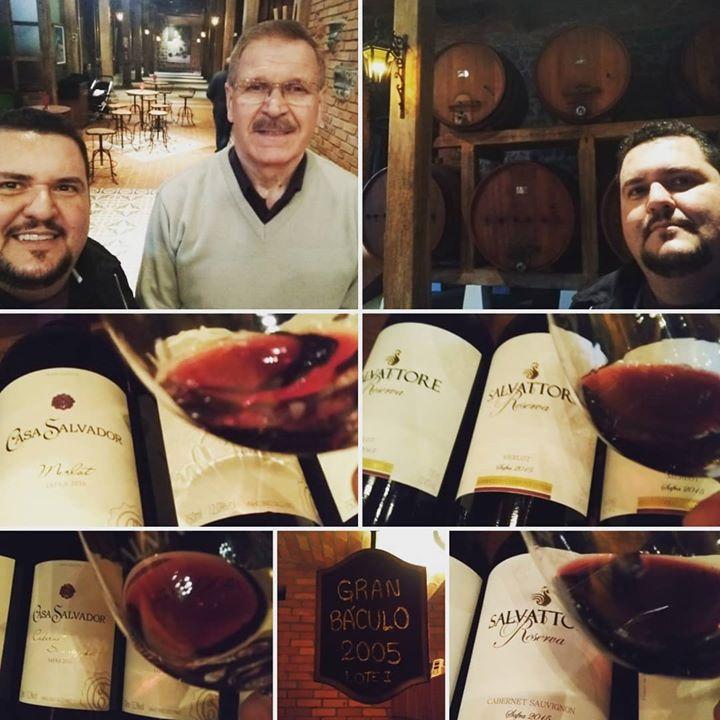 Dia de visitação… dia de vinho brasileiro sim