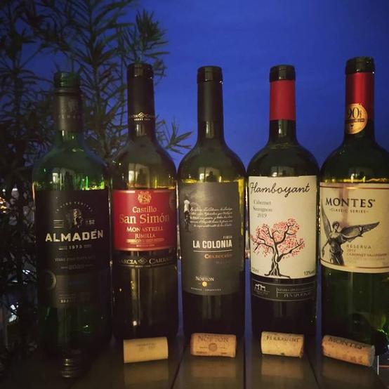 Semana com Cabernet Sauvignon clássico do Chile